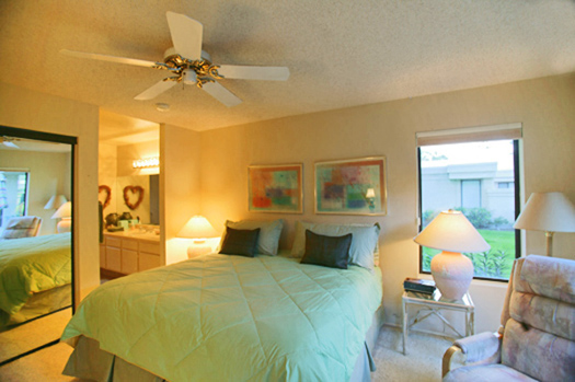 third bedroom suite is a separate casita