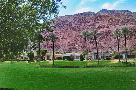 11th green of the world famous La Quinta Hotel Mountain Course